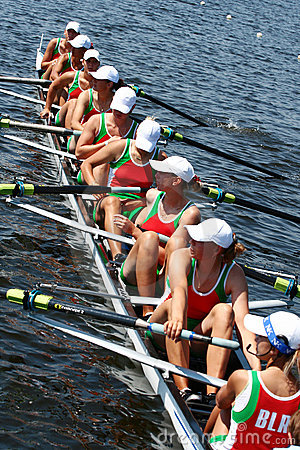 Free The Finals In Rowing. Royalty Free Stock Image - 18395286