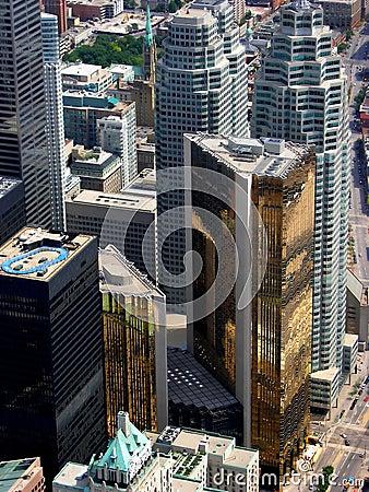 Free The Financial Heart Of Toronto. Stock Photo - 185660