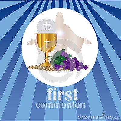 Free The First Communion, Or First Holy Communion Stock Images - 51598204