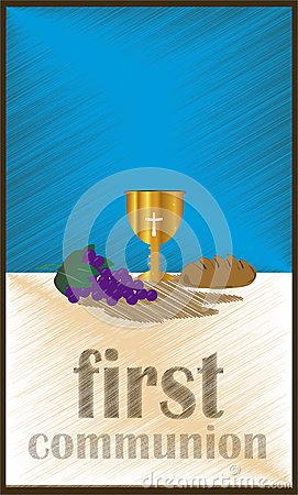 Free The First Communion, Or First Holy Communion Royalty Free Stock Photo - 51604155