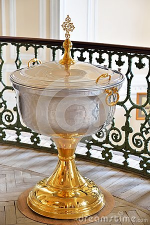 Free The Font Of The Chapel Of The Holy Trinity In Gatchina Palace Royalty Free Stock Photo - 103480225