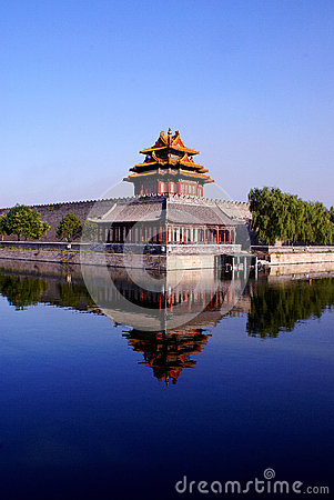 Free The Forbidden City Turret Stock Photography - 49724112