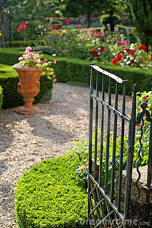 Free The Garden Gate Royalty Free Stock Photography - 3202367