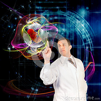 Free The Genetics Concept Royalty Free Stock Photos - 27859508