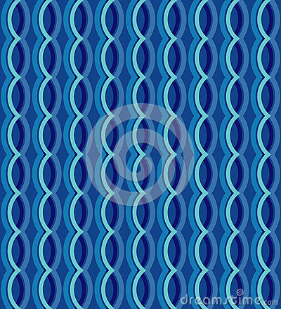 Free The Geometric Seamless Vector Curvy Waves Pattern Texture Background. Vector Graphic Illustration., Vector Design. Stock Photo - 68951160