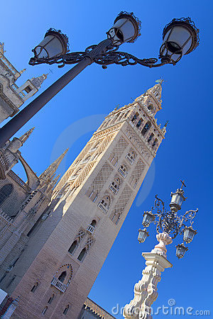 Free The Giralda, Seville Royalty Free Stock Photography - 8462487