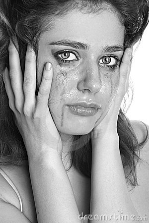 Free The Girl In Grief Royalty Free Stock Photo - 14269935