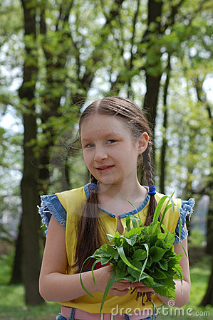 Free The Girl On The Farm Royalty Free Stock Photo - 3179125