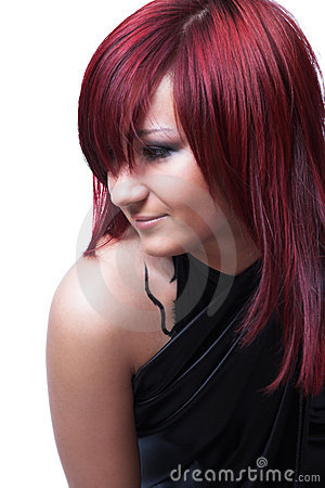 Free The Girl With Red Hair Stock Photos - 4596893