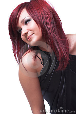 Free The Girl With Red Hair Royalty Free Stock Image - 5321776