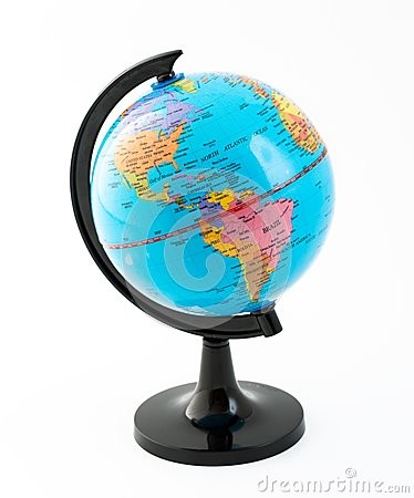 Free The Globe. Representation Of Planet Earth Royalty Free Stock Photography - 38372857