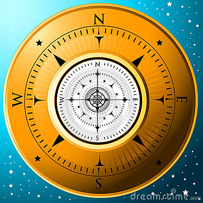 Free The Golden Compass Royalty Free Stock Photography - 3606857