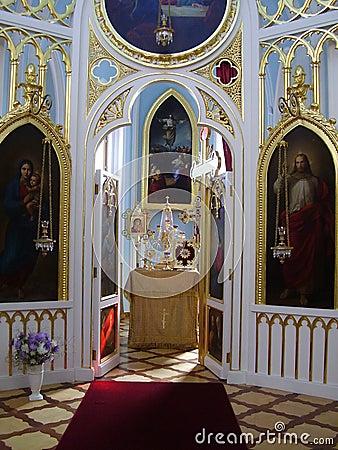 Free The Gothic Chapel In Peterhof, Alexandria. Royalty Free Stock Photos - 1306808