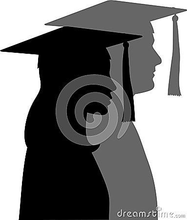 Free The Graduates/eps Stock Photography - 3685812