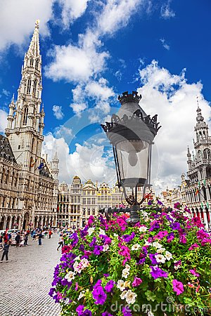 Free The Grand Place In Brussels Royalty Free Stock Photos - 116568768