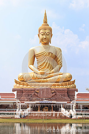 Free The Great Buddha Imagery In Ubonratchathani, Thailand Royalty Free Stock Photo - 68187185