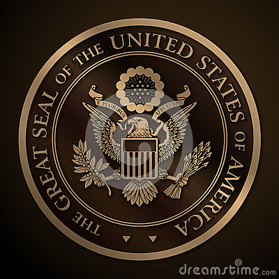 Free The Great Seal Of The US Gold Stock Image - 77337021