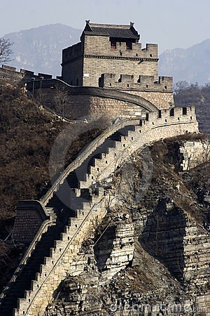 Free The Great Wall Royalty Free Stock Image - 1207186