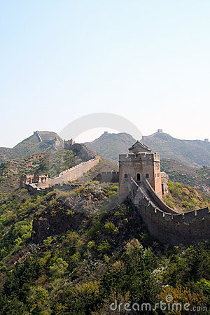 Free The Great Wall Royalty Free Stock Photo - 5027045