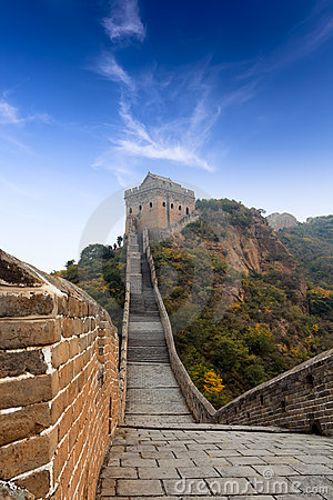 Free The Great Wall Of China Royalty Free Stock Image - 21857636