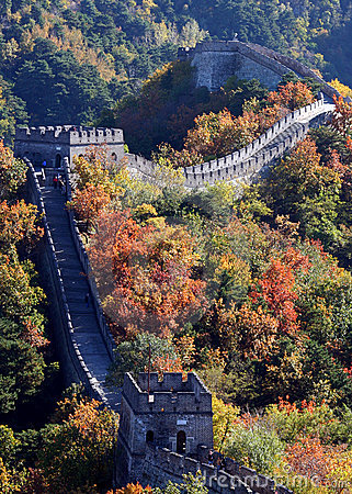 Free The Great Wall Of China Stock Photo - 2811440