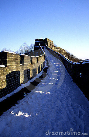 Free The Great Wall Of China Royalty Free Stock Photo - 3631265