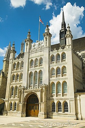 Free The Guildhall, London Royalty Free Stock Images - 3073249