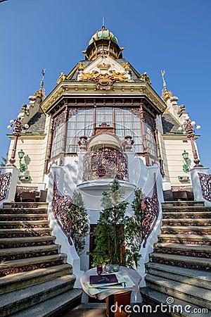 Free The Hanau Pavilion In Letná Park In Autumn, Prague, Czech Republic Royalty Free Stock Photos - 137855278