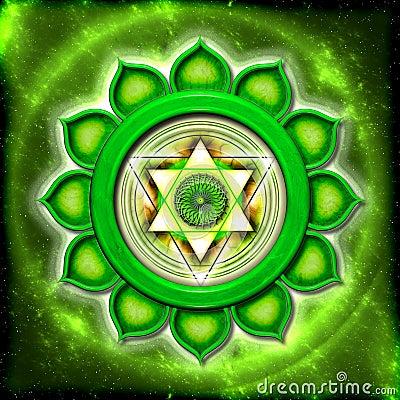Free The Heart Chakra Stock Photos - 32025933