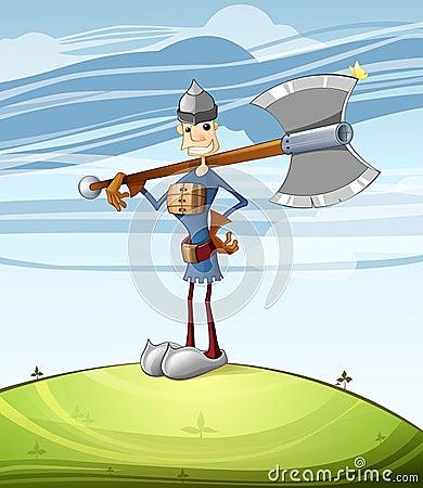 Free The Hero Royalty Free Stock Photography - 21483167