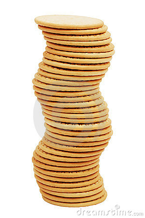 Free The High Stack Of Biscuits Figure Stock Photo - 23828920