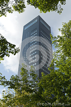 Free The Highest Tower In Northern Netherlands, Achmea Tower Leeuwarden Royalty Free Stock Photos - 35877918