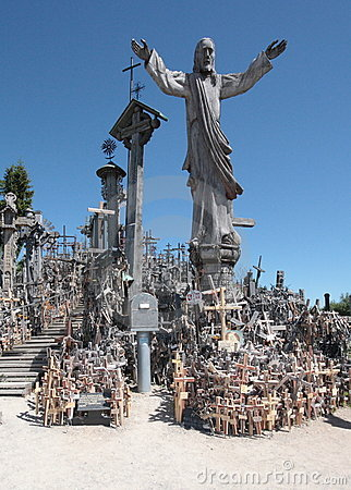Free The Hill Of Crosses Stock Photography - 20144102