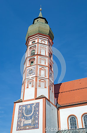 Free The Historic Monastery Kloster Andechs In Bavaria Royalty Free Stock Photo - 61473205