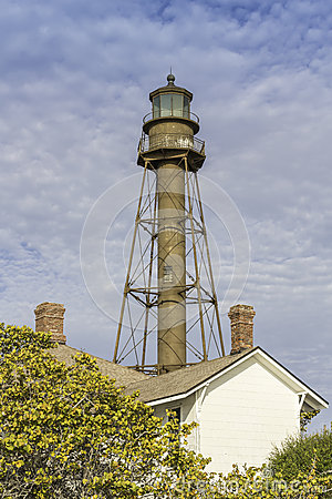 Free The Historic Sanibel Island Lighthouse In Florida Stock Photo - 30264130