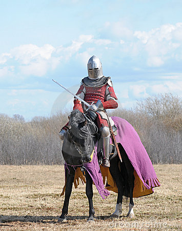 Free The Horse Knight Royalty Free Stock Image - 15717746