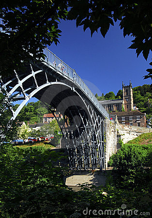 Free The Ironbridge, Telford Royalty Free Stock Photos - 1496698