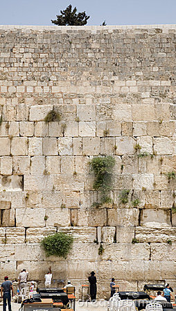 Free The Jerusalem Wailing Wall Royalty Free Stock Images - 811469