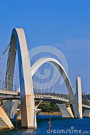 Free The JK Bridge In Brasilia Royalty Free Stock Photos - 21761008