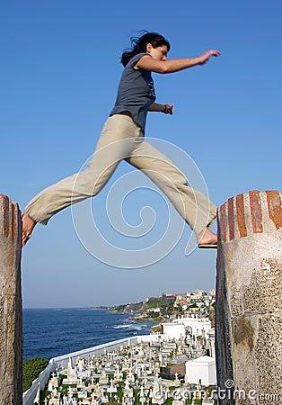 Free The Jump Stock Photo - 6056740