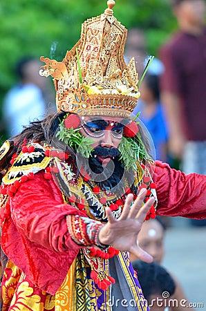 Free The Kecak Fire Dance At Uluwatu Temple, Bali, Indonesia Stock Photography - 80552912