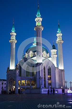 Free The Kul-Sharif Mosque In The Kazan Kremlin Stock Photography - 108580712