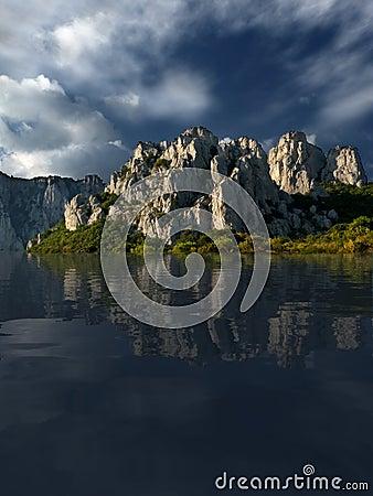 Free The Lake Of Calmness Stock Image - 522871