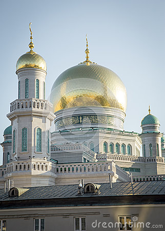 Free The Largest And Highest Mosque In Europe - Moscow, Russia Stock Image - 60806321