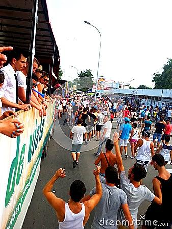 Free The Last Liberty  Parade From Romania Royalty Free Stock Photos - 108469878
