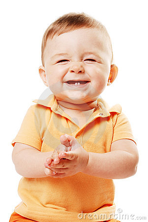 Free The Laughing Baby Royalty Free Stock Photography - 6669297