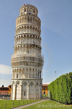 Free The Leaning Tower Stock Photos - 12650743