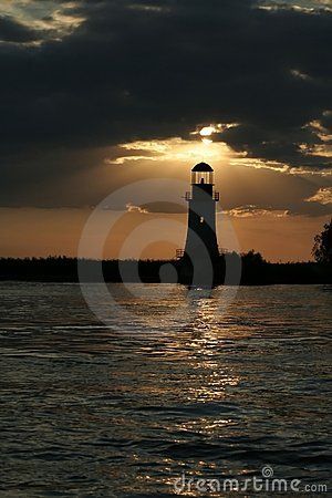 Free The Lighthouse Is Working Once Again Royalty Free Stock Image - 1084246