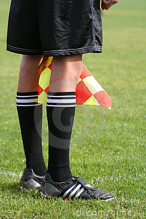 Free The Linesman Royalty Free Stock Image - 612286