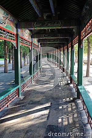 Free The Long Corridor At The Summer Palace Beijing Stock Photos - 25465713